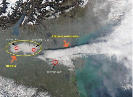 Nuvole da terremoto sul nord Italia ?