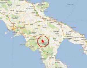 I terremoti storici della Basilicata
