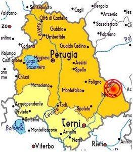 I terremoti in Umbria
