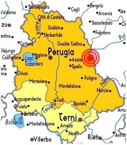 Cartina Geografica Umbria Cascia.Terremoti Storici Umbria