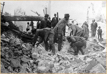 Il Terremoto di Avezzano 13 gennaio 1915